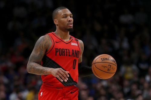 Damian Lillard and the Portland Trail Blazers will tonight take on the Utah Jazz