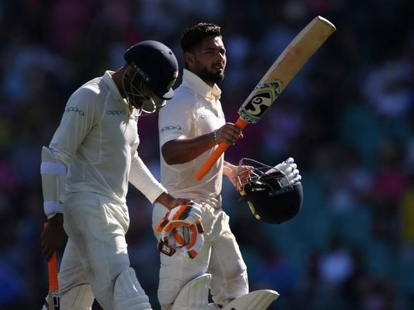 Pant and Jadeja added 202 runs for the seventh wicket