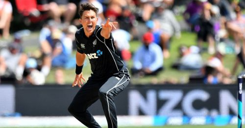 Trent Boult was awarded Player of the Match for his superb bowling performance