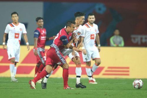 FC Goa pressed hard but couldn't take away all three points