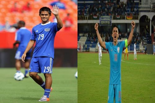 What if Sunil Chhetri had taken the #10YearsChallenge?