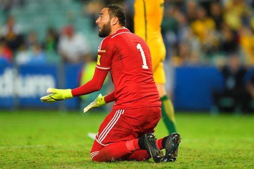 Amer Shafi from Jordan vs Australia - 2018 FIFA World Cup Qualification