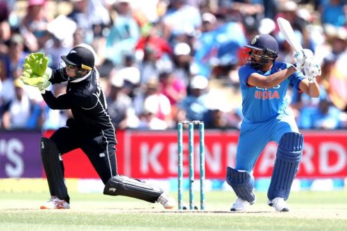 Rohit scored 87 runs in today match