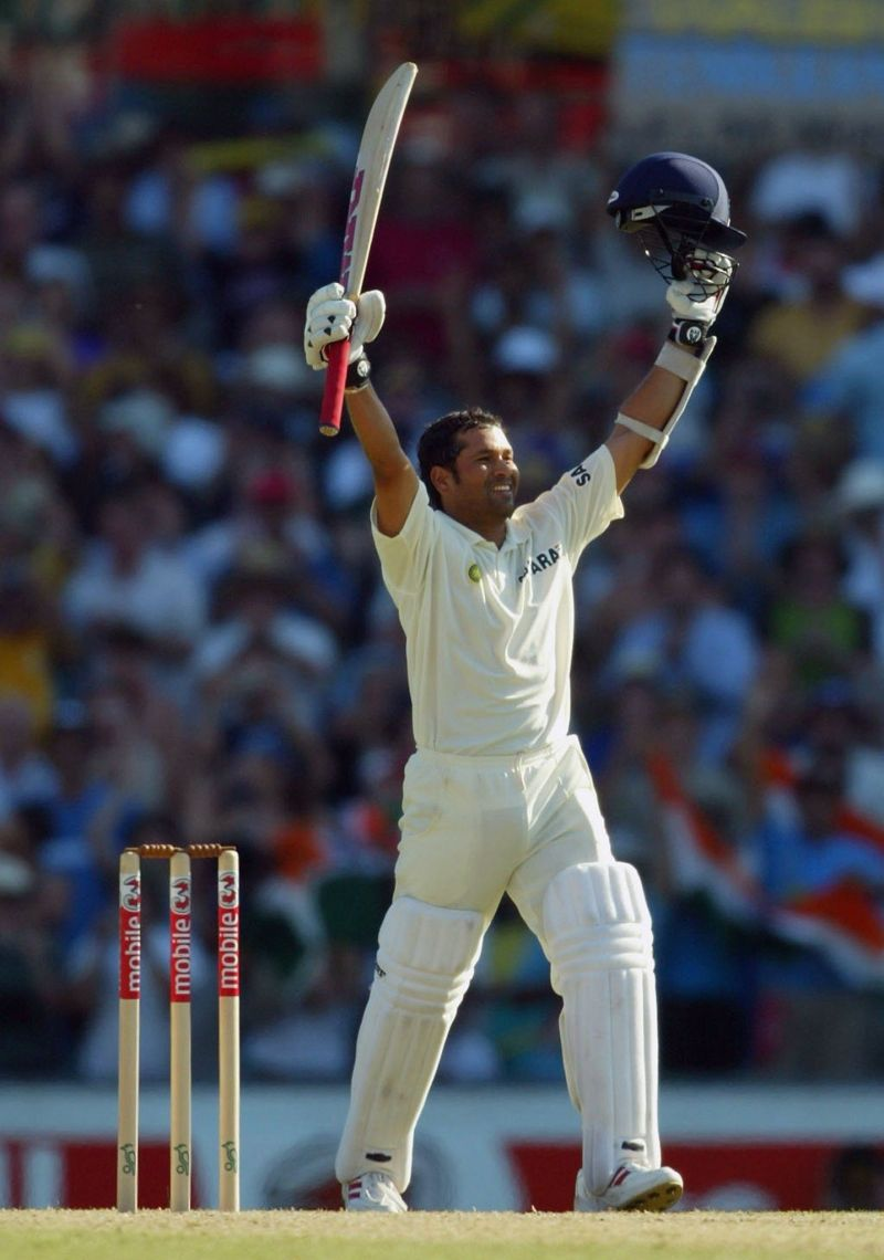 Sachin Tendulkar scored century