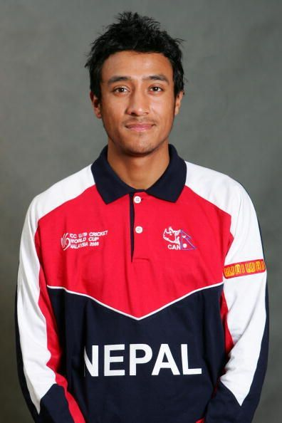 Nepal's Captain Paras Khadka