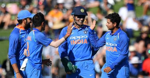 Kuldeep Yadav and Yuzvendra Chahal picked up 6 wickets between them to rattle the Kiwi batting line-up.