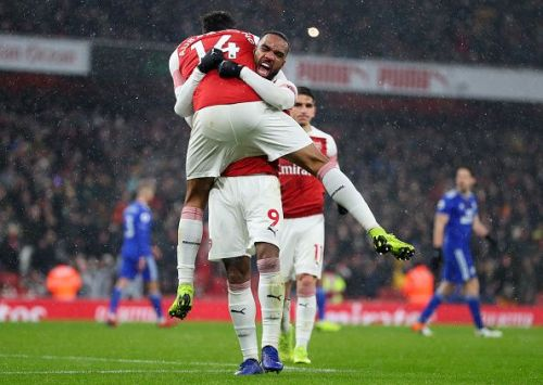 Aubameyang and Lacazette again came up with the goods