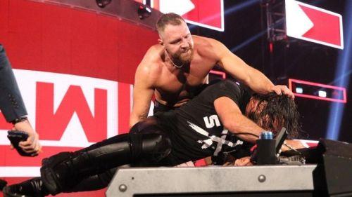 Seth Rollins faced Dean Ambrose under such a stipulation