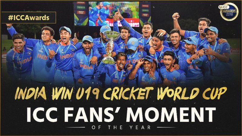 ICC fans moment