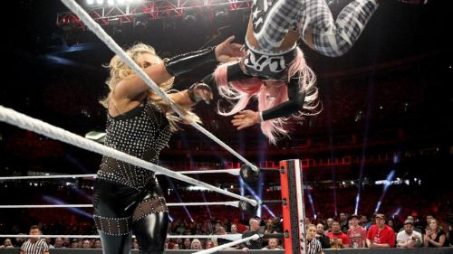 Liv Morgan was eliminated by the Queen of Harts, Natalya