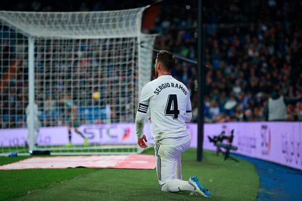 Sergio Ramos is expected to be fit for the game