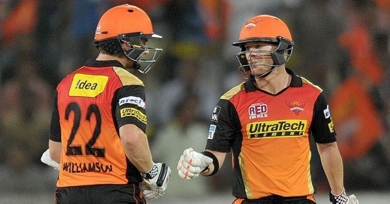 Warner & Williamson led with the bat during their captaincy stints