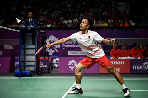 Anthony Ginting would be one of the crowd favorites