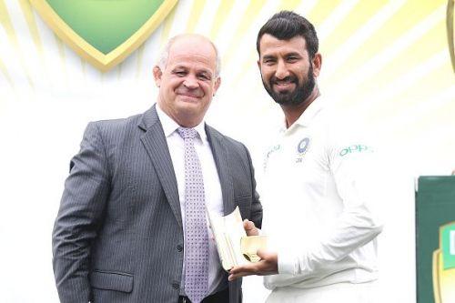 Indian batsman Cheteshwar Pujara