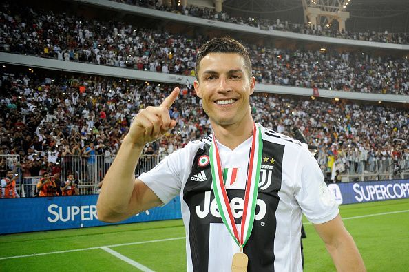 Ronaldo wins his first title with Juventus.