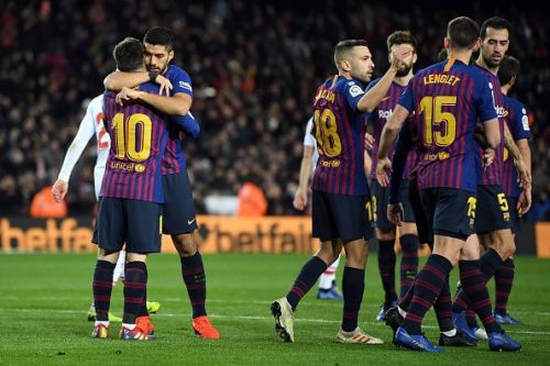 FC Barcelona will be looking to overturn their first leg defeat
