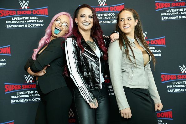 Ruby Riott, Liv Morgan, & Sarah Logan - The Riott Squad