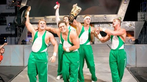 The Spirit Squad feuded with DX