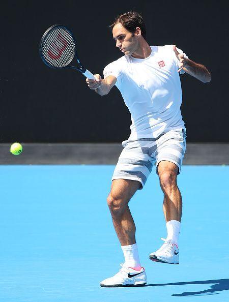 Federer is the defending champion in Melbourne