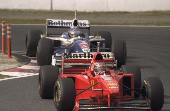 Michael Schumacher & Villeneuve