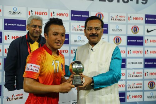 Laldanmawia Ralte was adjudged the 'Hero of the Match' in the previous Kolkata Derby