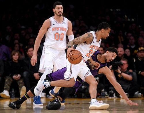 New York Knicks snapped an eight-game losing streak
