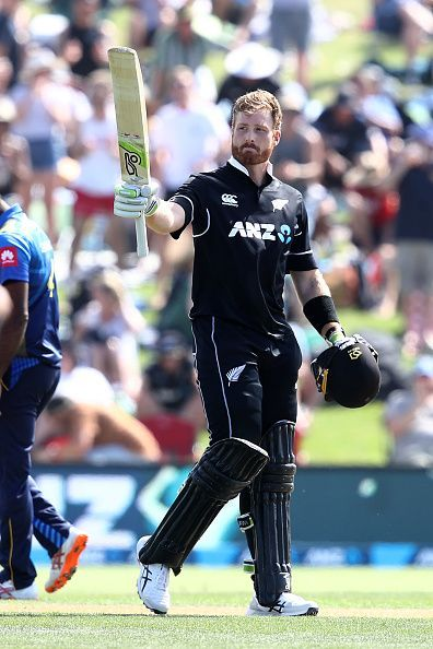 Martin Guptill smashed his 14th ODI ton