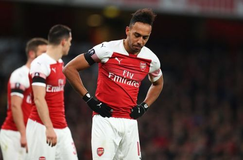 Aubameyang flattered to deceive once more on this occasion, despite halving the deficit before half-time