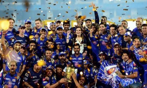 Mumbai Indians have won the IPL trophy 3 times already.