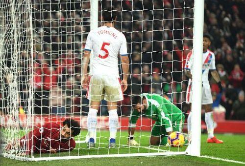 Salahscores the third goal