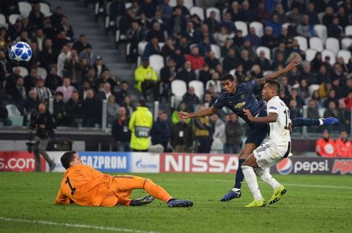 Juventus showed signs of struggle in the UCL group stage