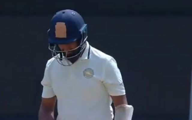 Cheteshwar Pujara is playing for Saurashtra in the Ranji Trophy 2018-19