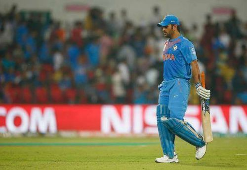 Dhoni failed to finishing