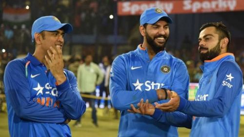 Yuvraj, Dhoni and Kohli have been part of Many Indian victories
