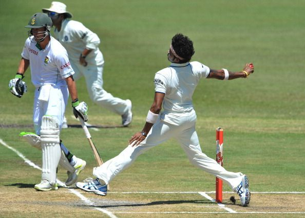 Sreesanth rattled the Proteas with his fiery spell