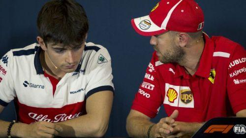 Leclerc & Vettel will drive the same car in 2019