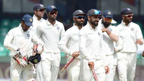 Virat Kohli-led Indian team