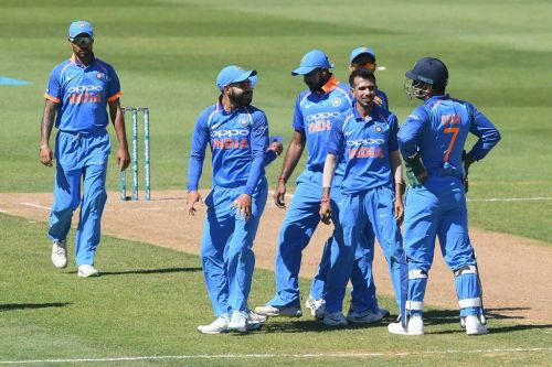 The Indian team trashed New Zealand by eight wickets in the first ODI