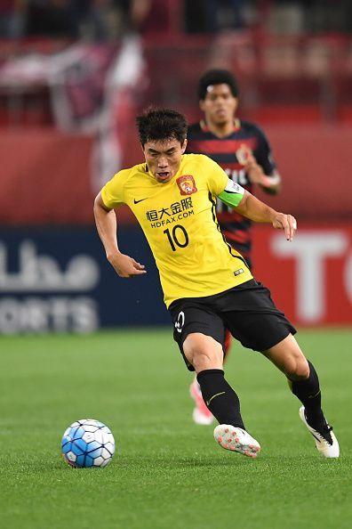 Zheng Zhi in action