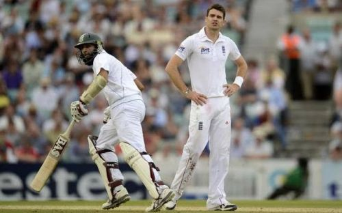 Hasim Amla And James Anderson
