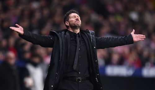 Diego Simeone has an injury crisis to deal with