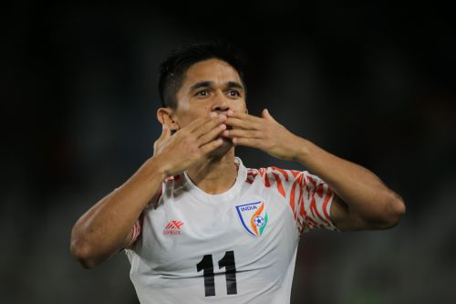 Sunil Chhetri scored one of the finest goals of the tournament so far