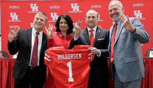 The University of Houston Introduces Dana Holgorsen