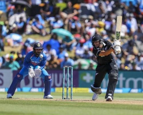 Ross Taylor's 93 run knock went in vain.