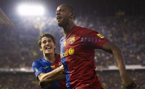 Yaya Toure had an effective time with the Blaugrana