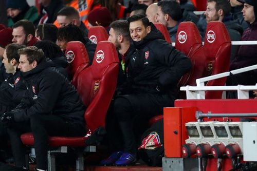 Ozil's playing time has not been consistent