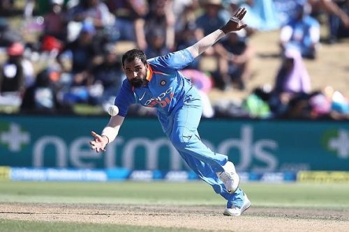 Mohammed Shami became the fastest Indian to join 100 wicket club in ODIs