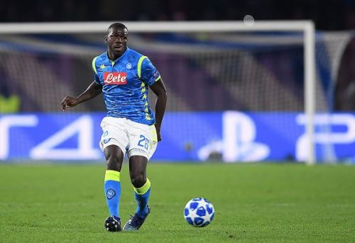 Napoli's Kalidou Koulibaly is reportedly top of Manchester United's shopping list