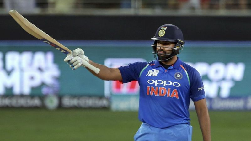 Rohit scored five centuries in 2018