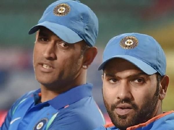 Dhoni has played an important part in lifting Rohit Sharma